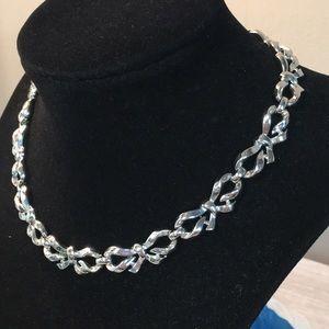 Trifari Bow Necklace